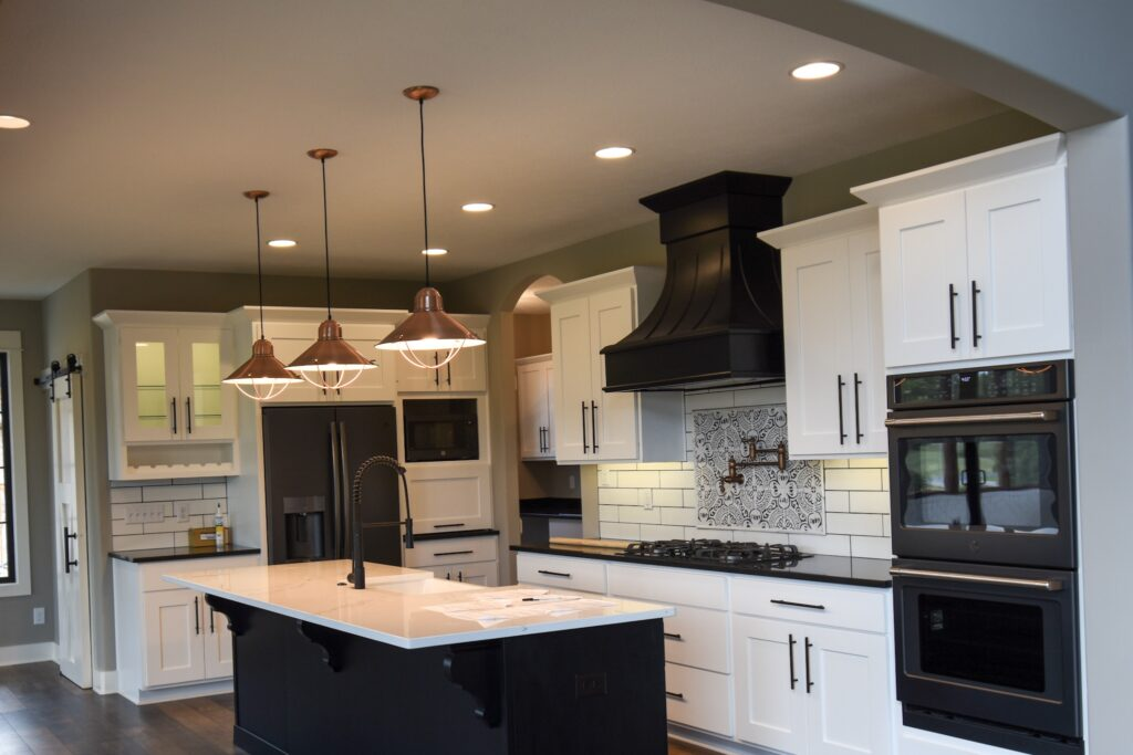Custom Kitchen by Rick Campbell Builder Greenwood, Indiana